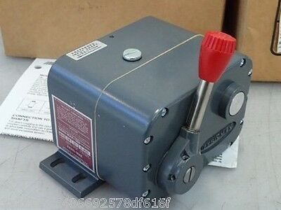 Zero-Max Jk42 Gear Reducers, 400 Rpm (New In Box)