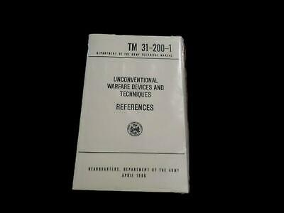 U.s Department Of The Army Unconventional Warfare Devices Handbook