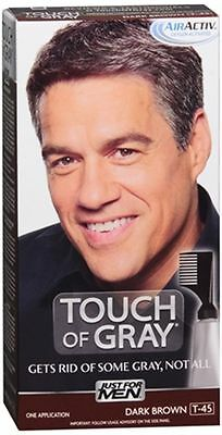 JUST FOR MEN Touch of Gray Hair Treatment T-45 Dark Brown
