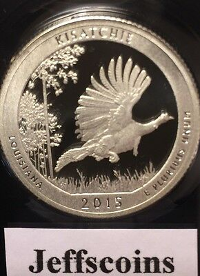 2015 S Kisatchie National Forest Clad Proof QUARTER Louisiana Park Lowest Price