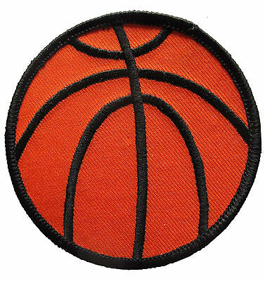 """3"""" Embroidery Iron On Basketball Applique Patch"""