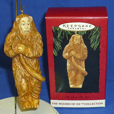 Hallmark Ornament The Wizard of Oz Collection The Cowardly Lion 1994 NIB