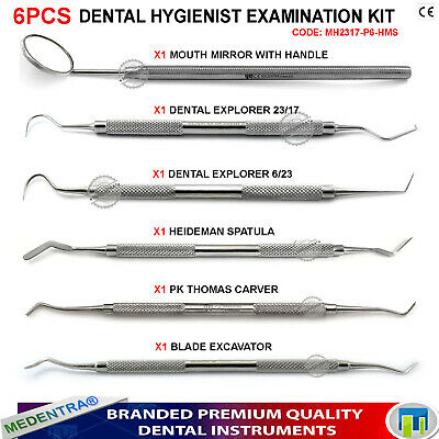 Dental Basic Instruments for Dentist Students, Random Frequently Needed Tools CE