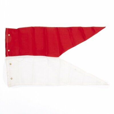 Napoleonic Wars Red and White Lance Pennant