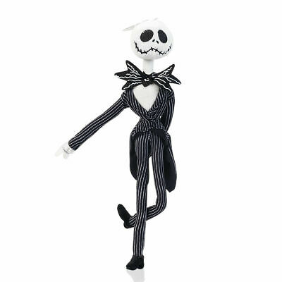 The Nightmare Before Christmas Jack Skellington Power Poseable Plush soft Doll
