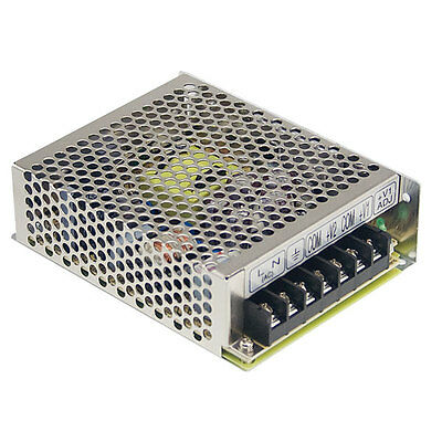 50W Switching Power Supply Mean Well RS-50 52.8W 24v PSU Enclosed Transformer