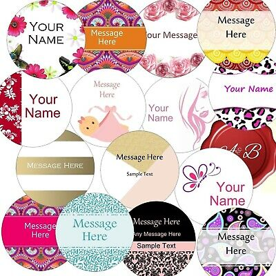 Personalised 37mm Business/Company Name Labels/stickers, Thank You Seals