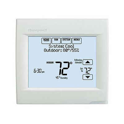 HONEYWELL VisionPro Programmable, 1H/1C, Touchscreen Thermostat TH8110R1008
