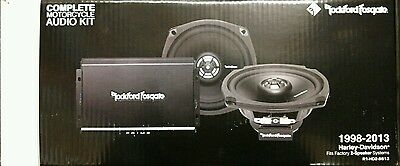 Rockford Fosgate Prime R1-HD2-9813 140 Watts 2-Channel Harley Motorcycle System