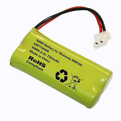 MOTOROLA MBP28 BABY MONITOR RECHARGEABLE BATTERY PACK 750mAh 2.4v