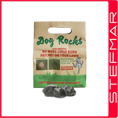2 x Dog Rocks 600g - (1.2kg total) Helps Save Your Grass Lawn !