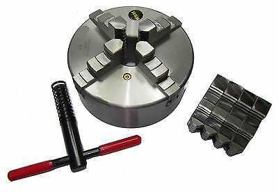 Rdg Tools 325Mm 4 Jaw Self Centering Lathe Chuck D6 Camlock Fitting Colchester