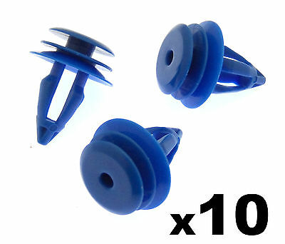 10x Land Rover Range Rover Evoque Plastic Clips for Front & Rear Wheel Arch Trim