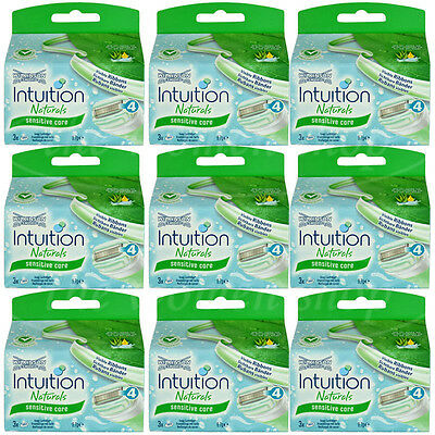 27 Wilkinson Intuition Sensitive Care Naturals Rasierklingen Klingen Aloe Vera