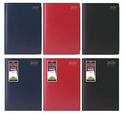 2019 diary A4/A5 Page a Day/Week to View Diary Hardback Casebound Diaries