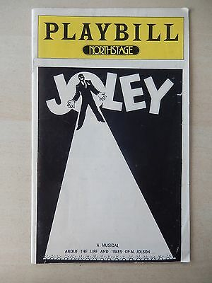 1978 - Northstage Theatre Playbill - Joley - Larry Kert - Gibby Brand