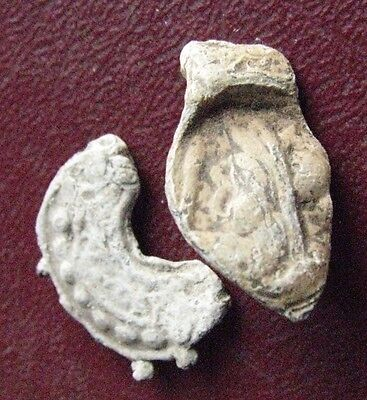 Authentic Ancient Artifact   Roman to Medieval Lead Seal ALS 80