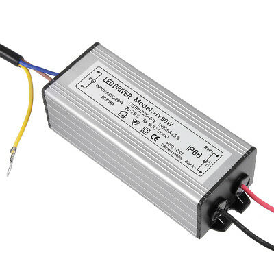 AC 85-265V to DC 25-40V 1500mA IP66 50W LED Light Strip Power Supply Driver