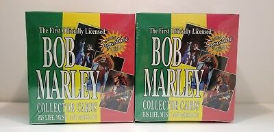 Bob Marley Music Collector Trading Card 36 Unopened 1995 Pack Box