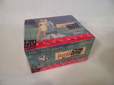 2 Box of Disney Pocahontas Trading Card 36 Unopened Pack Box Total 72 Packs
