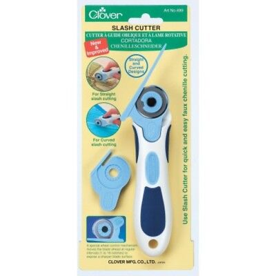 """Clover Slash Cutter 1-1/8"""" (28 Mm) 499 - Straight & Curved Designs New Improved"""