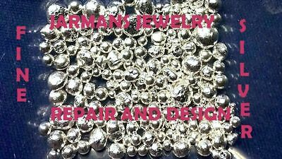 3 Dwts .99995+ MEDICAL GRADE PURE Silver Bullion shot, HIighest Purity Available
