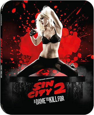 Sin City 2 A Dame to Kill For Limited Edition Blu-Ray Steenbok - Official