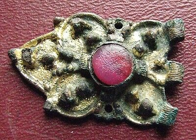 Authentic Ancient Artifact > Frankish Merovingian Belt Decoration Buckle ALS 12