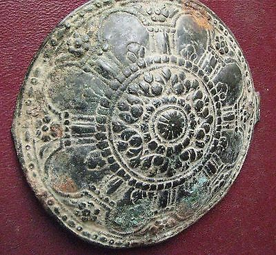Authentic Ancient Artifact > LARGE Byzantine Belt Buckle Decoration  ALS 113