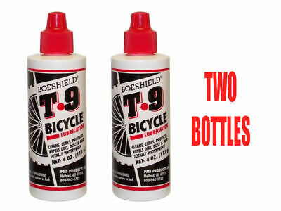 2 X Boeshield T9 Bike Lube T-9 Dripper Mtb Lubricant Waterproof Wax 4Oz Chain