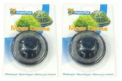 2 x Superfish Moss Dome Tropical Fish Tank Marine Discus