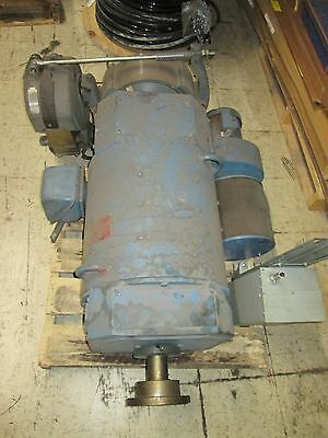 Emerson DC Motor w/ Brake and Blower 3680B152002 20HP 500RPMs DP frame Used
