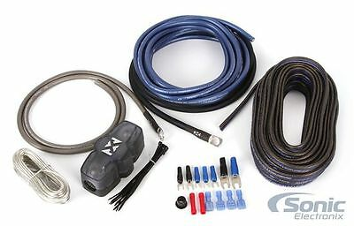 NEW! NVX XAPK8 8 Gauge Car 100% OFC Amplifier Wiring Kit w/ Speaker Cable