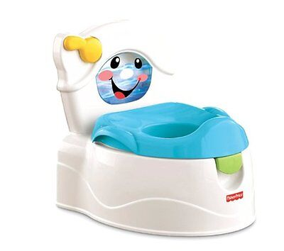 Fisher-Price Learn-to-Flush Potty Provides realistic toilet elements mixed BMM08