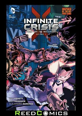 INFINITE CRISIS FIGHT FOR THE MULTIVERSE VOLUME 1 GRAPHIC NOVEL Collects #1-6