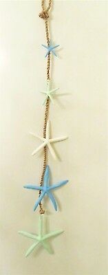 Starfish on a Rope Strand wall hanging decor