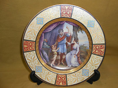 Royal Vienna Hand Painted Plate.
