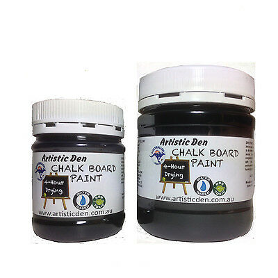 Blackboard Paint Chalkboard Paint Black 250-500ml Menue Board Paint Chalk Paint