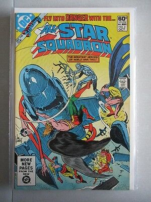 All Star Squadron (1981-1987) #2 NM-