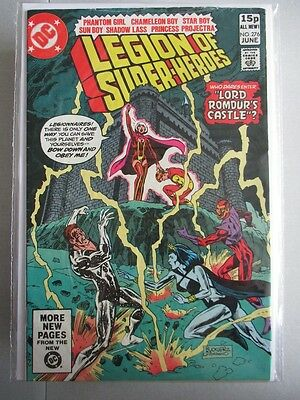 Legion of Super-Heroes Vol. 1 (1980-1984) #276 FN+ UK Price Variant