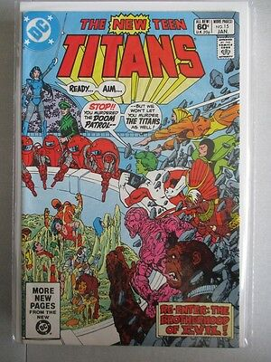 New Teen Titans (1980-1984) #15 VF