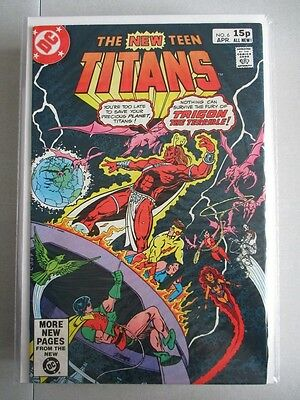 New Teen Titans (1980-1984) #6 NM- UK Price Variant
