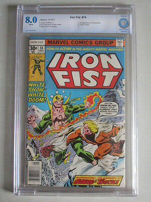 Iron Fist #14 1977 CBCS 8.0 White Pages