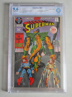 Superman #241 1971 CBCS 9.6 OW/W Pages
