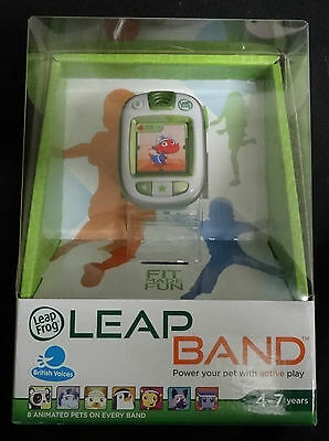 Leapfrog Leapband Fitness Activity Trader With Animated Pets - Green - Bnib