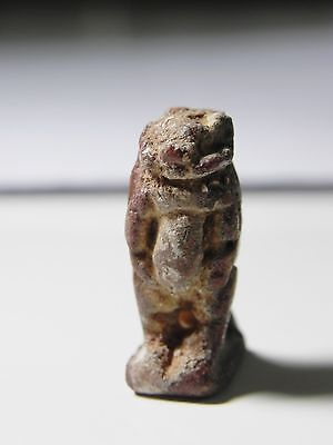 Zurqieh -B10- Ancient Egypt - Beautiful Faience Amulet Of Khnum, 600 - 300 B.c