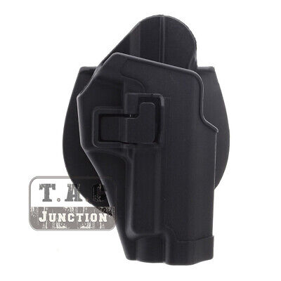 Tactical Military Concealment Right Waist Paddle Belt Hand Holster for P226 P229