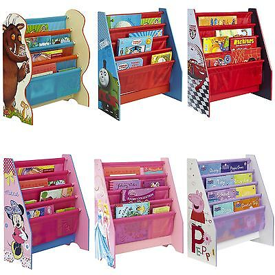 Kids Character Sling Bookcase Bedroom Storage