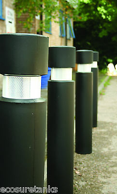 Ecosure Safety Parking Bollard with Galvanized Steel Core - Removable Sleeve