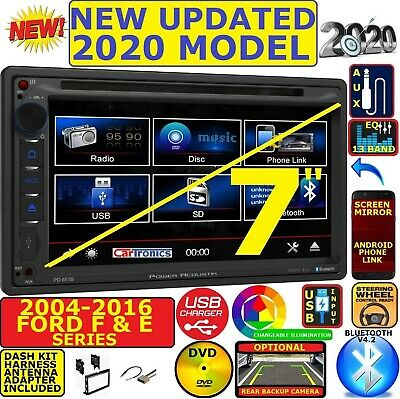 FORD MERCURY TOUCHSCREEN Double Din Bluetooth CD DVD AUX BT USB Car Radio Stereo